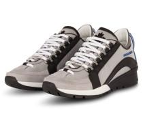 Sneaker - HELLGRAU/ SCHWARZ/ WEISS
