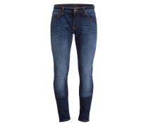 Jeans LIN Skinny-Fit - dark deep worn blau