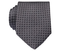 Krawatte - schwarz/ weiss