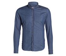 Jeanshemd SANDRO Slim-Fit - blau