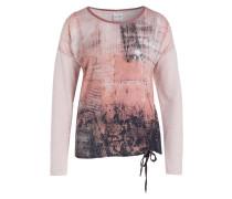 Blusenshirt - rosa/ silber