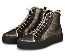 Hightop-Sneaker - SCHWARZ/ GOLD