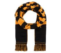 Schal - schwarz/ orange
