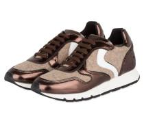 Sneaker JULIA MIRROR - BRAUN/ BEIGE