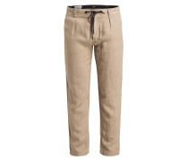 Leinenhose SYMOON Tapered Fit
