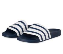 Sandalen ADILETTE - dunkelblau/ weiss