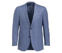 Sakko Slim-Fit - blau/ weiss