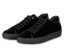 Samt-Sneaker MIRAGE - SCHWARZ