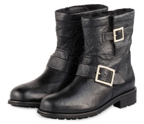 Biker-Boots YOUTH - SCHWARZ