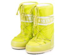 Moon Boots NYLON GLANCE - GELB