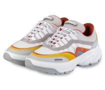 Sneaker DEMO RUNNER - WEISS/ GRAU/ ORANGE