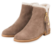 Stiefeletten LOUISE - TAUPE