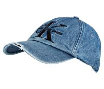 Cap - blau meliert