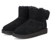 Boots CLASSIC BLING MINI - SCHWARZ