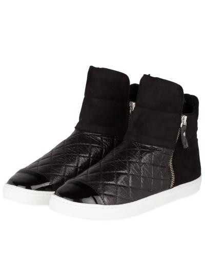 The No Animal Brand Damen Hightop-Sneaker - SCHWARZ Sammlungen Rabatt Manchester Großer Verkauf 2018 Neue Online N8bOE
