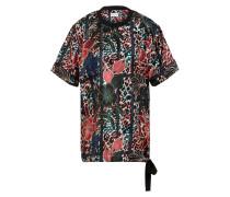 Oversized-Blusenshirt aus Seide