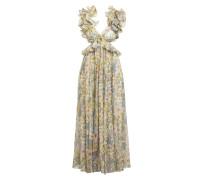 Kleid SUPER EIGHT mit Seide und Leinen