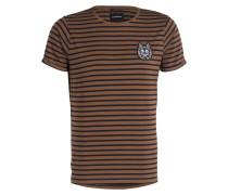 T-Shirt SHORE - hellbraun