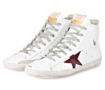 Sneaker FRANCY - WEISS/ ROT