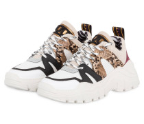 Sneaker - WEISS/ SCHWARZ/ BRAUN