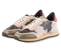 Sneaker CAMOUFLAGE - DUNKELGRÜN/ TAUPE