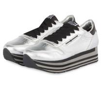 Plateau-Sneaker NOVA - SILBER