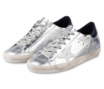 Sneaker SUPERSTAR - silber metallic/ weiss