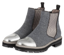 498456d79c28d8 Chelsea-Boots - GRAU  SILBER. Pertini