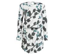 Kleid THEA - offwhite/ oliv