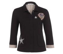 Jersey-Blazer mit 3/4-Arm