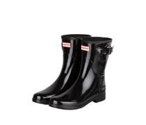 Gummi-Boots ORIGINAL SHORT GLOSS - SCHWARZ