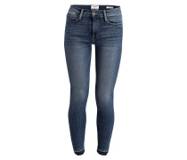 7/8-Jeans LE HIGH SKINNY - revere blue