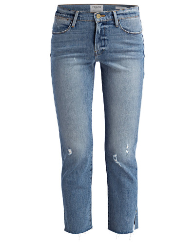 7/8-Jeans LE HIGH STRAIGHT - surrey blue