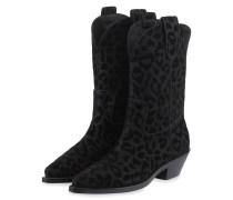 Ankle-Boots - SCHWARZ