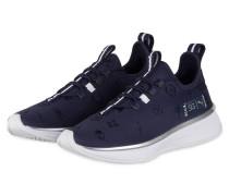 Plateau-Sneaker RUNNER EMBROIDERY - BLAU