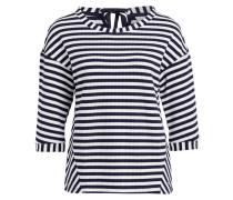 Shirt - schwarz/ weiss gestreift