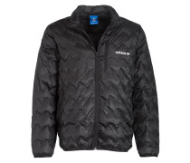 Steppjacke SERRATED - schwarz