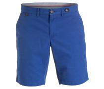 Chino-Shorts Classic-Fit - blau
