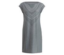 Outdoor-Kleid SANNA - grün/ weiss meliert