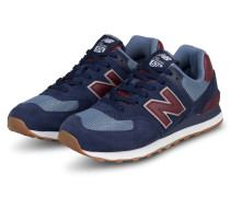 Sneaker 574 SUPER CORE - NAVY/ ROT