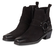 Cowboy Boots NIKKI - SCHWARZ