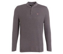 Henley-Shirt DANL - taupe