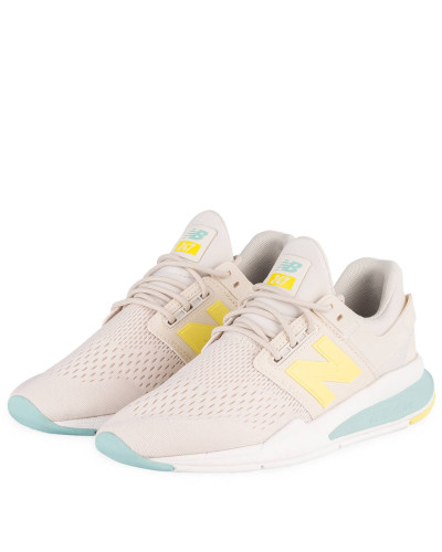 Sneaker 247 - CREME/ GELB