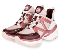 Plateau-Sneaker OLYMPIA TRAINER - PINK