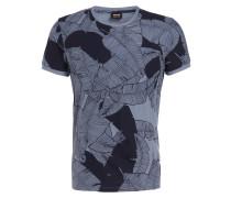 T-Shirt TARIT - blau/ dunkelblau