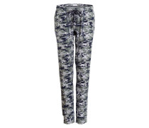 Lounge-Pants - olive/ navy/ grau