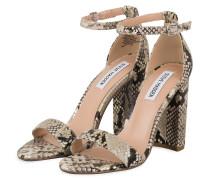 Sandaletten CARRSON - CREME/ GOLD/ SCHWARZ