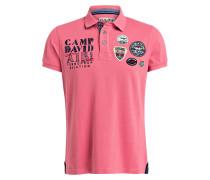 Piqué-Poloshirt - rosé
