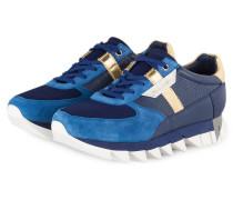 Sneaker - blau/ gold