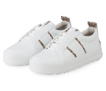 Plateau-Sneaker CALF - WEISS